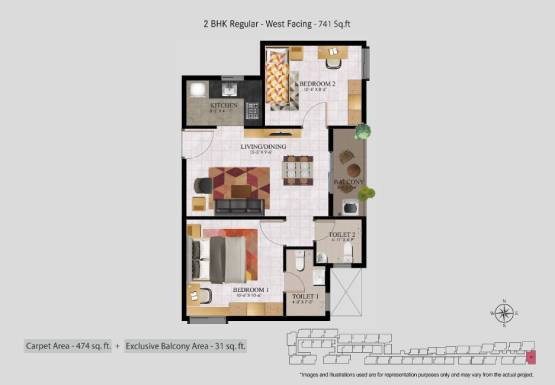 Flats for sale in Chennai for 30 lakhs - R2